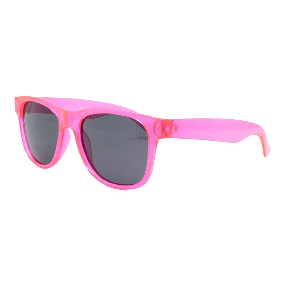 Óculos Solar para Brinde Unissex 740 Rosa Translúcido (SOB ENCOMENDA)
