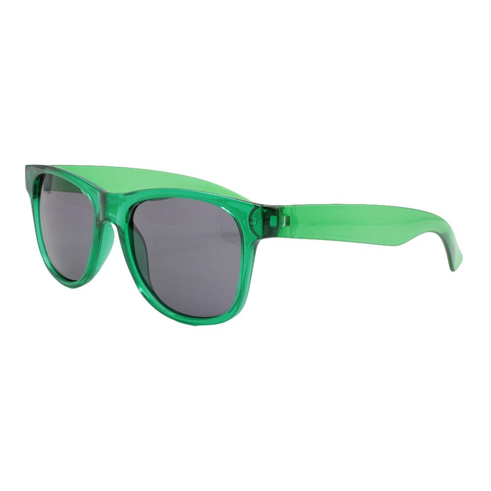 Óculos Solar para Brinde Unissex 740 Verde Translúcido (SOB ENCOMENDA)