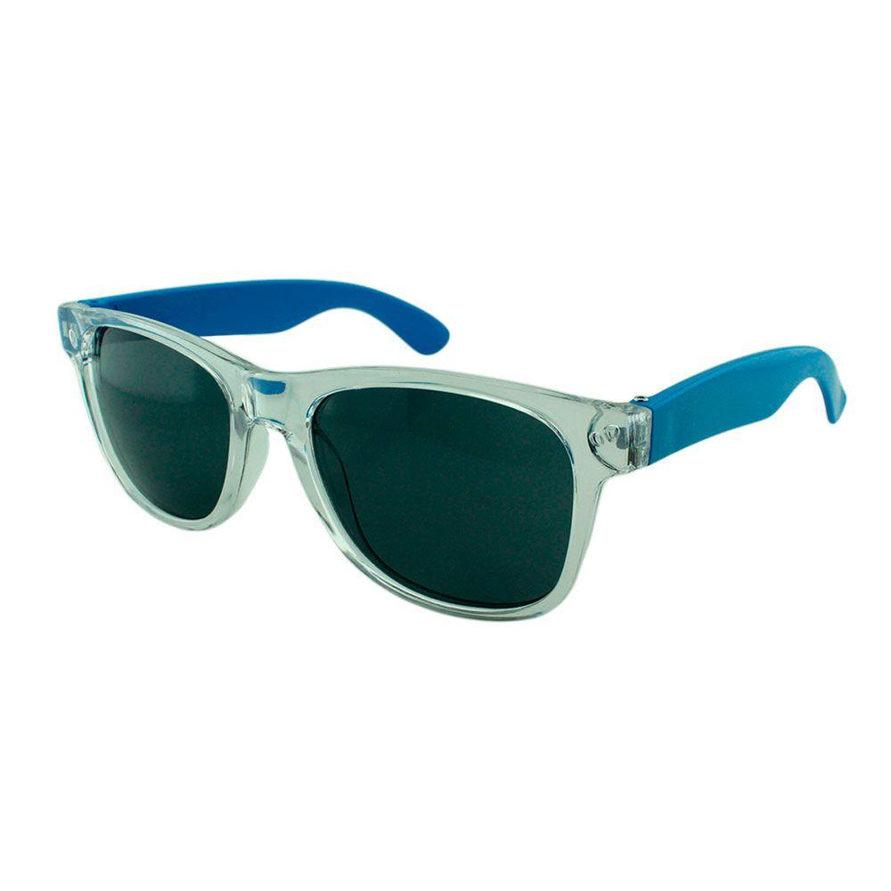Óculos Solar para Brinde Unissex 743S Transparente com Azul Claro (SOB ENCOMENDA)