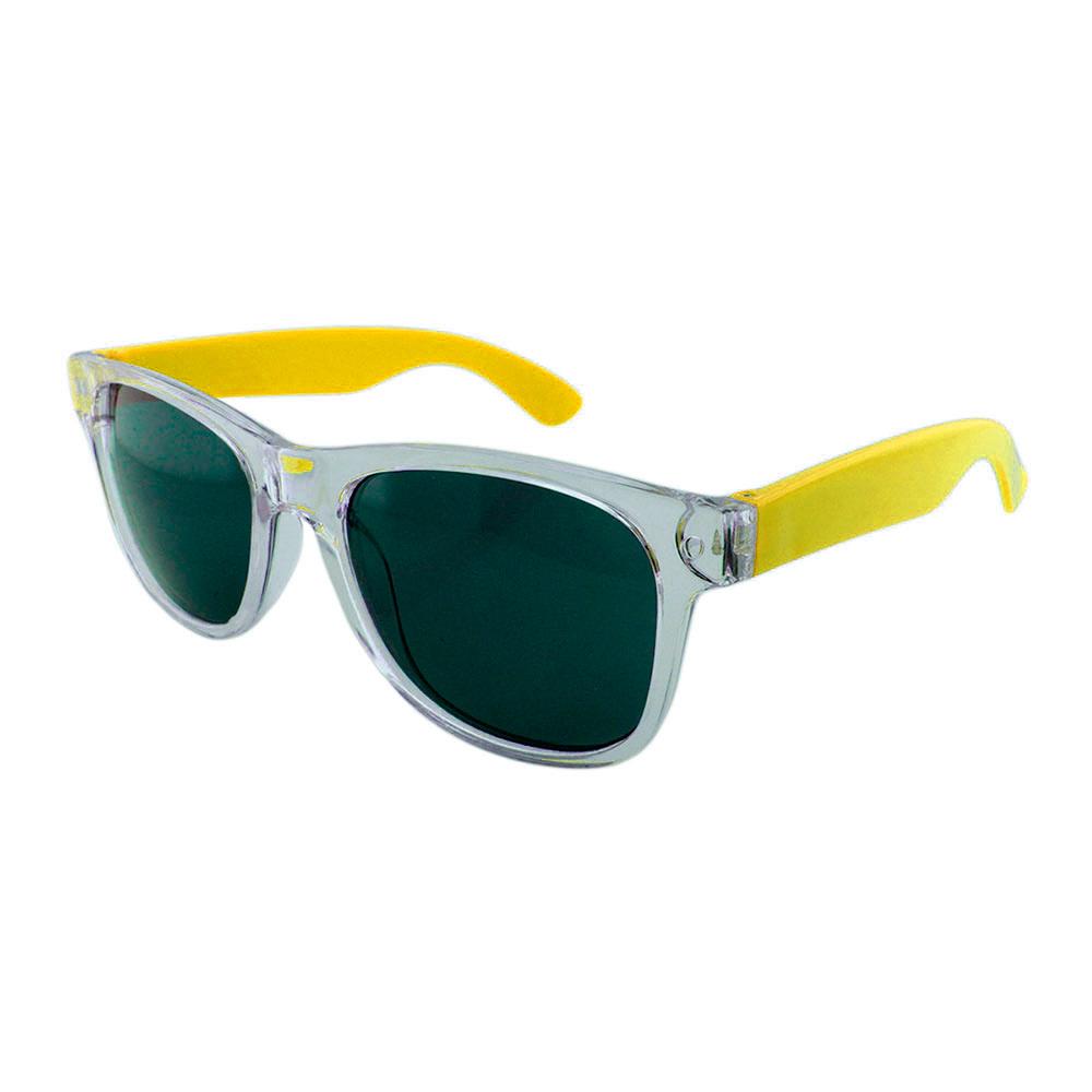 Óculos Solar para Brinde Unissex 743S Transparente e Amarelo (SOB ENCOMENDA)
