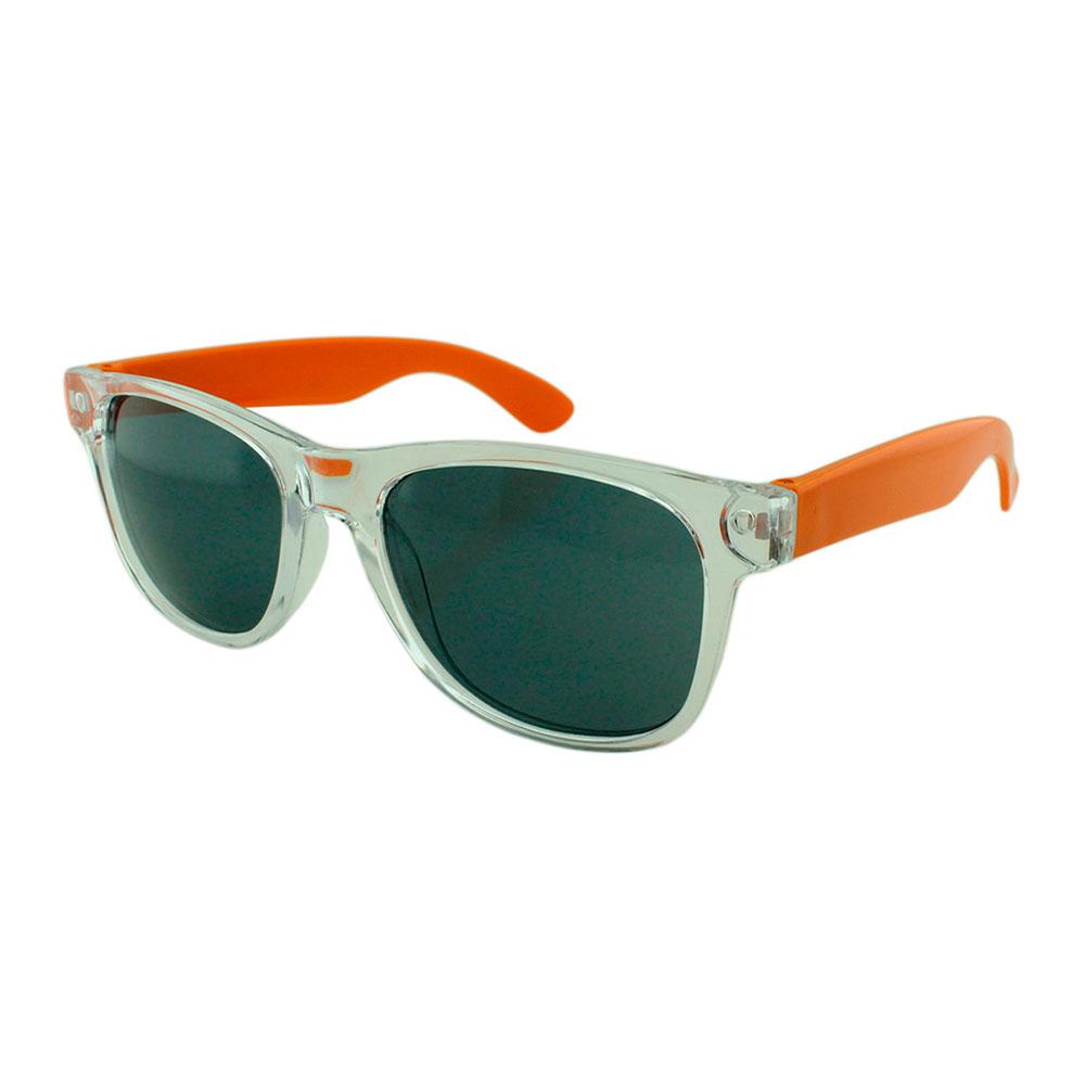 Óculos Solar para Brinde Unissex 743S Transparente e Laranja (SOB ENCOMENDA)