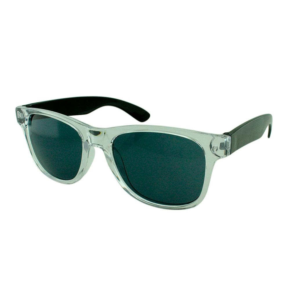 Óculos Solar para Brinde Unissex 743S Transparente e Preto (SOB ENCOMENDA)