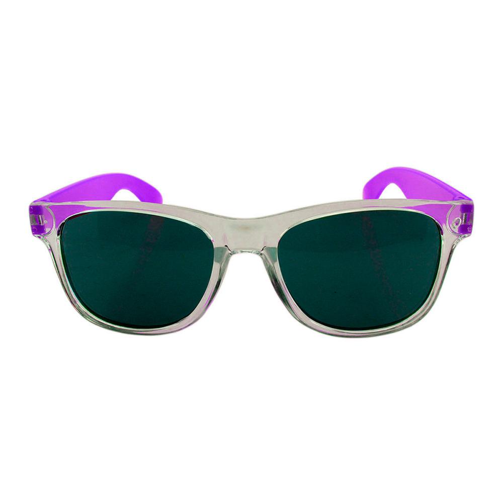 Óculos Solar para Brinde Unissex 743S Transparente e Roxo (SOB ENCOMENDA)