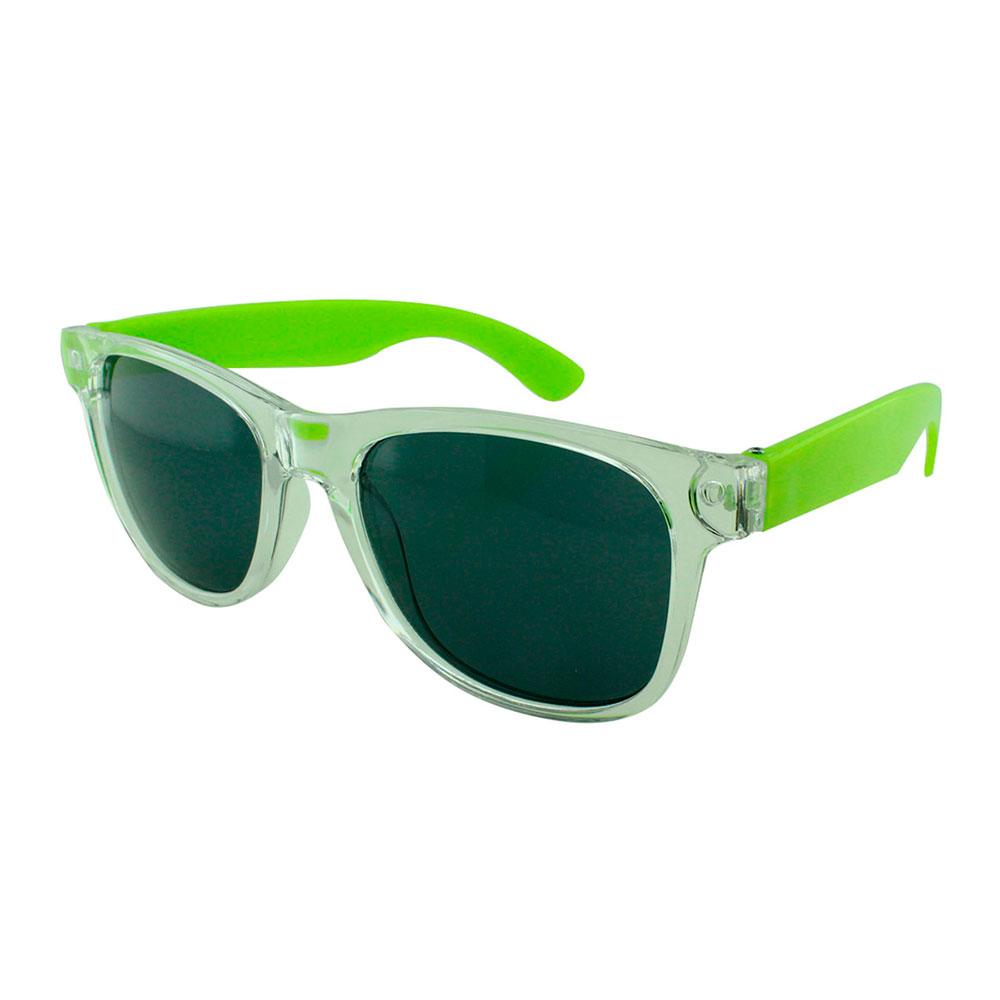 Óculos Solar para Brinde Unissex 743S Transparente e Verde (SOB ENCOMENDA)