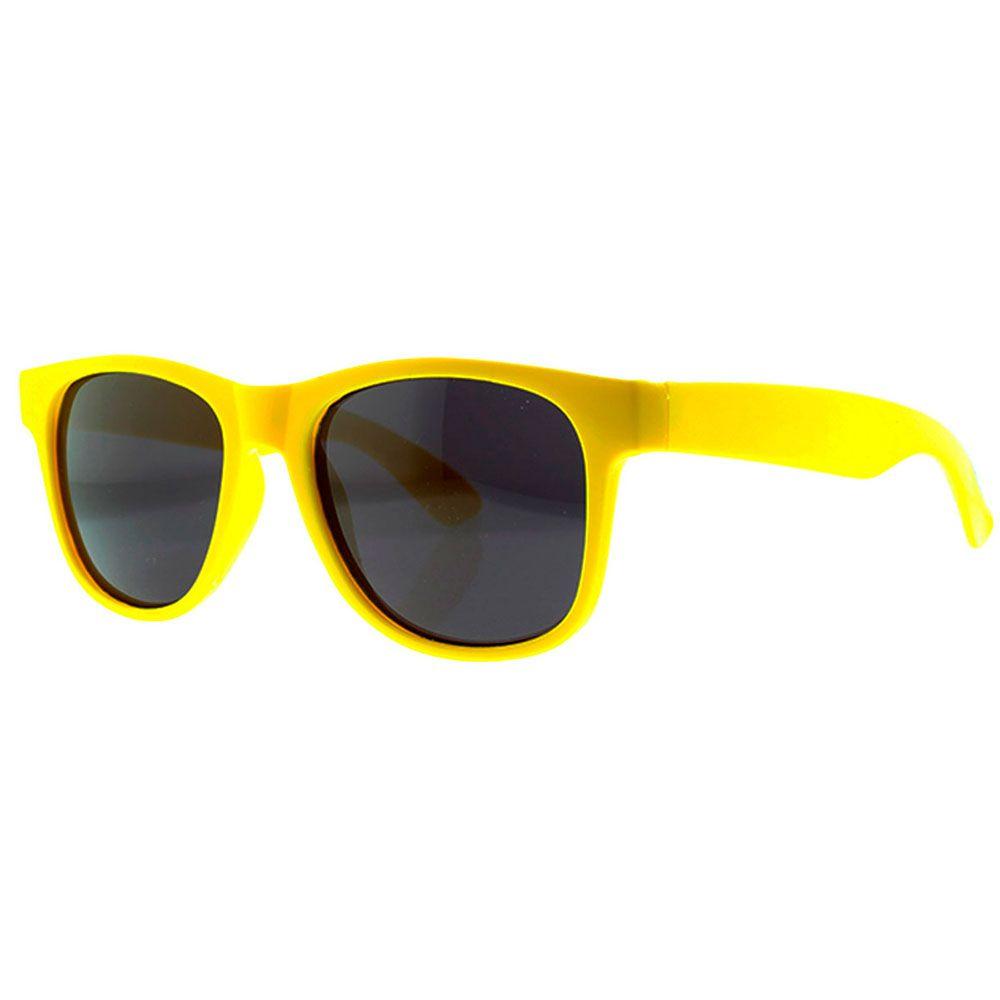 Óculos Solar para Brinde Unissex WFRAD Amarelo (SOB ENCOMENDA)