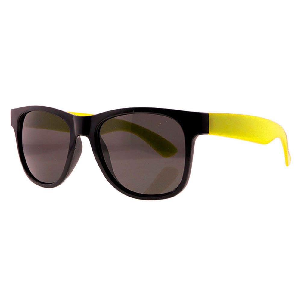 Óculos Solar para Brinde Unissex 243 Preto com Amarelo (SOB ENCOMENDA)