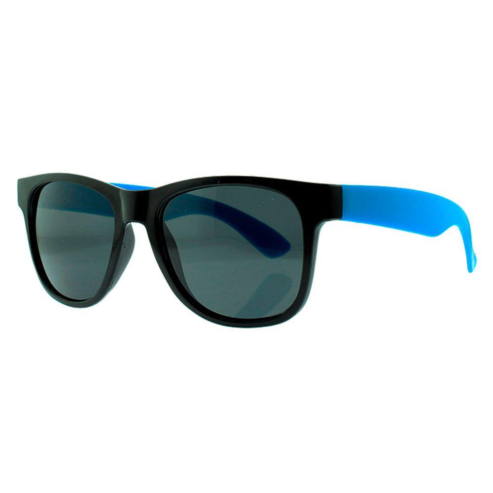 Óculos Solar para Brinde Unissex 243 Preto com Azul Claro (SOB ENCOMENDA)