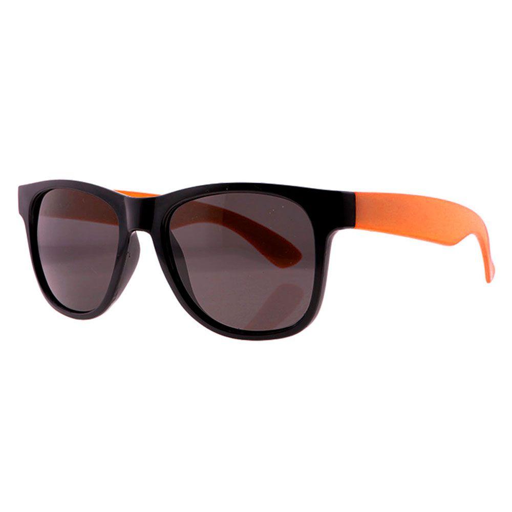 Óculos Solar para Brinde Unissex 243 Preto com Laranja (SOB ENCOMENDA)