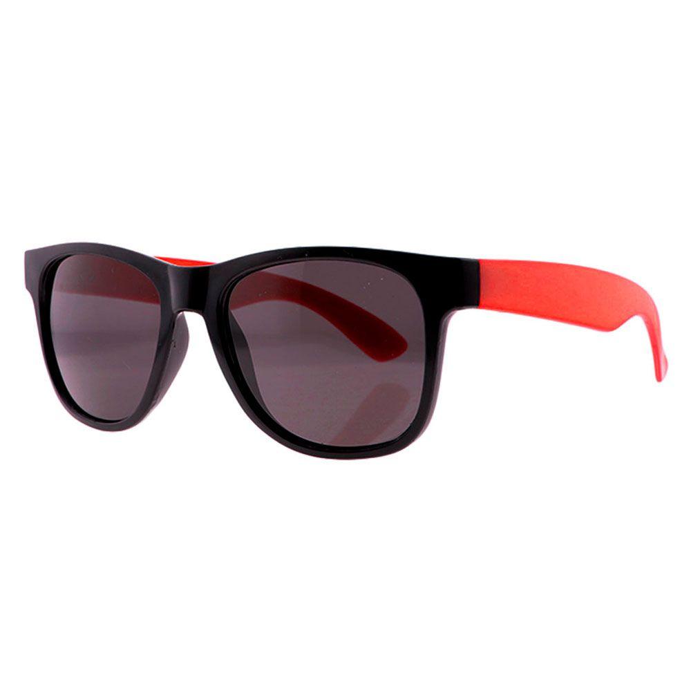 Óculos Solar para Brinde Unissex 243 Preto com Vermelho (SOB ENCOMENDA)