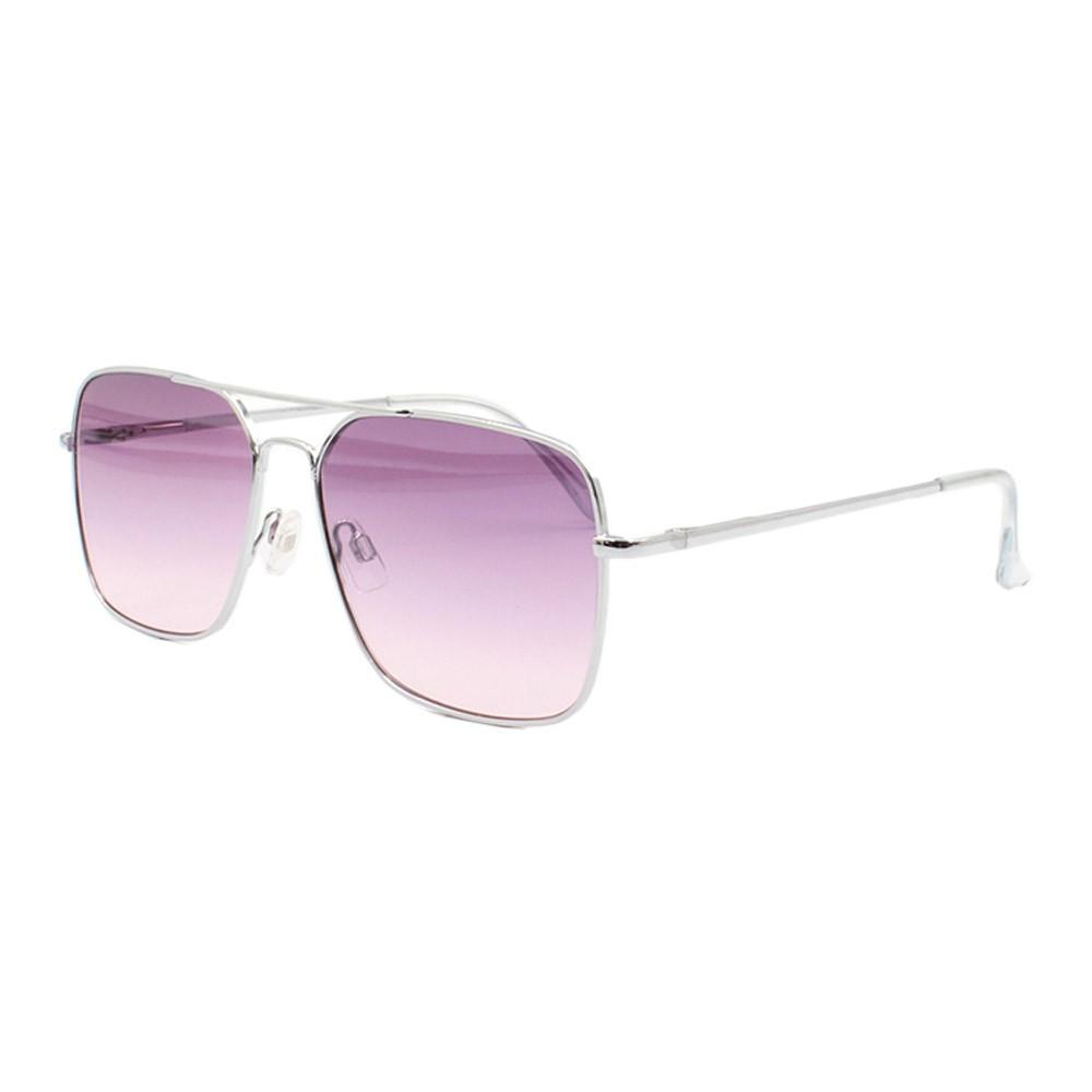 Óculos Solar Unissex B88447 Prata e Roxo