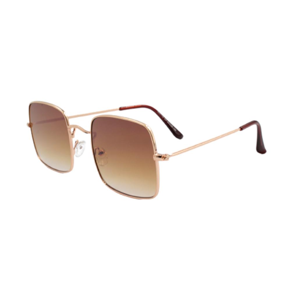 Óculos Solar Unissex H02118-C4 Dourado e Marrom