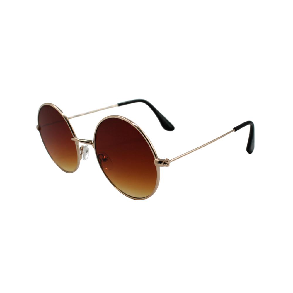 Óculos Solar Unissex H02374-C4 Dourado e Marrom