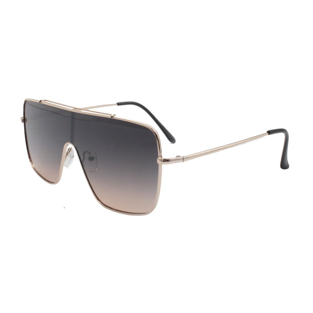 Óculos Solar Unissex H02415-C1 Dourado e Fumê