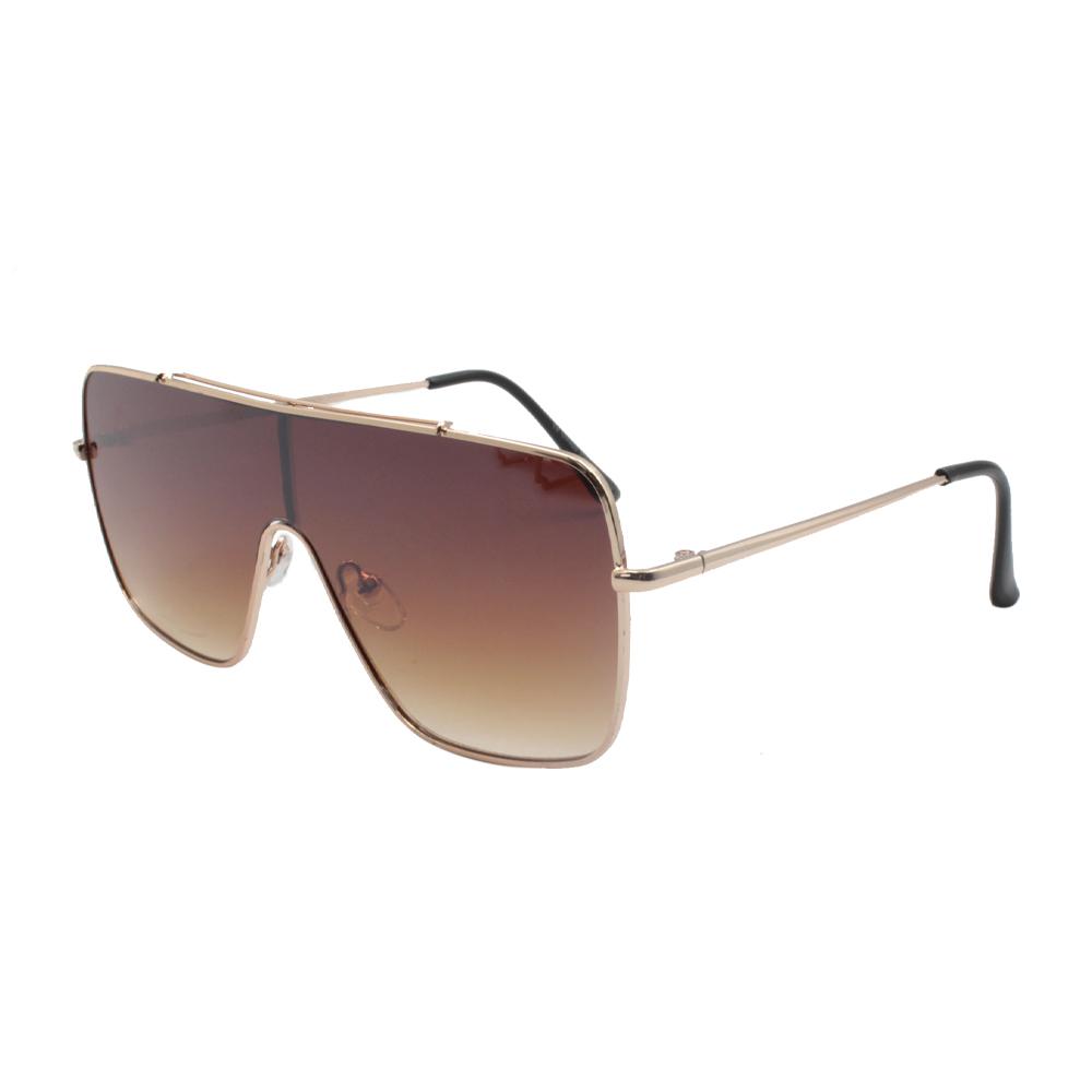 Óculos Solar Unissex H02415-C2 Dourado e Marrom