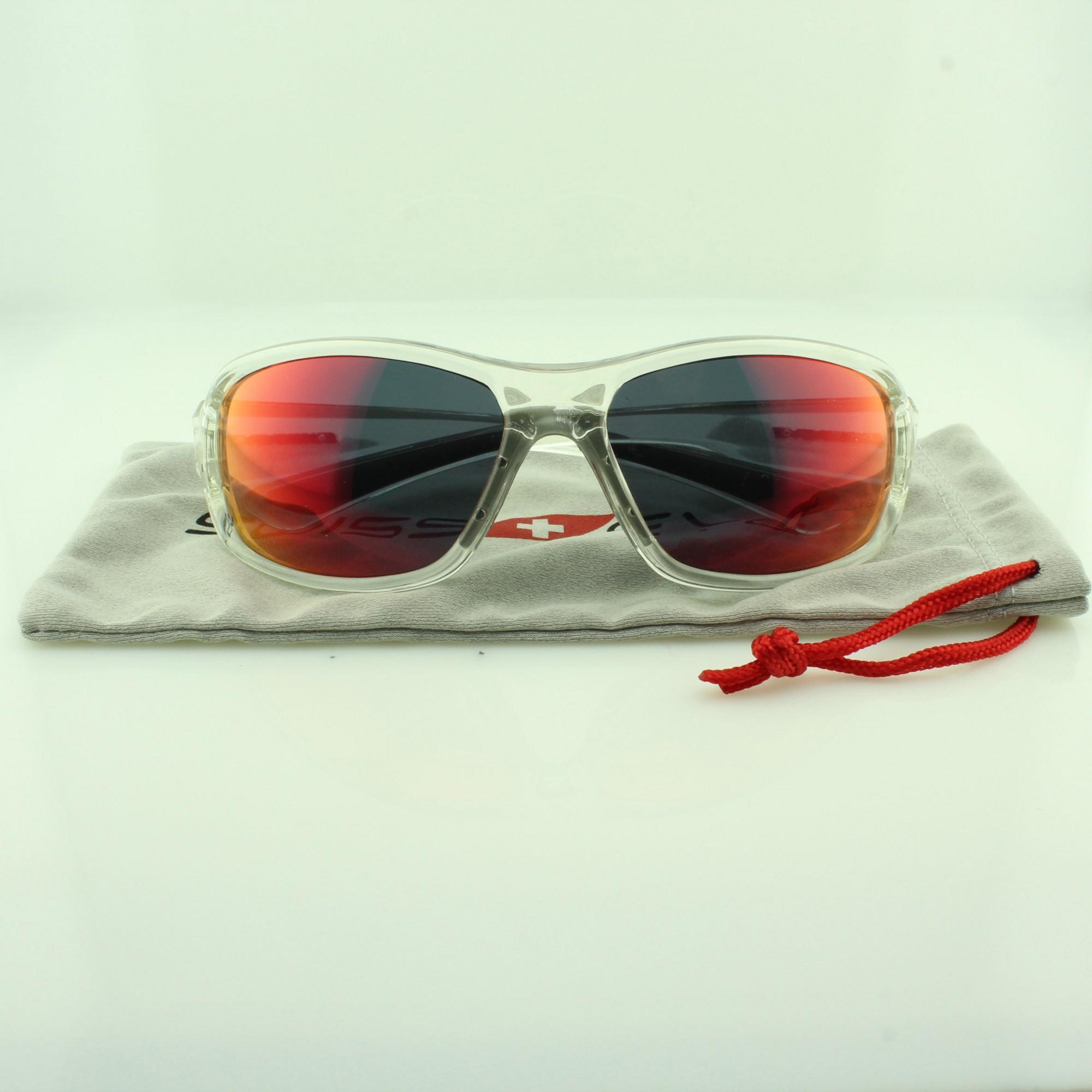 Óculos Solar Unissex para Ciclismo com Lentes Anti-Fog 14322 Transparente