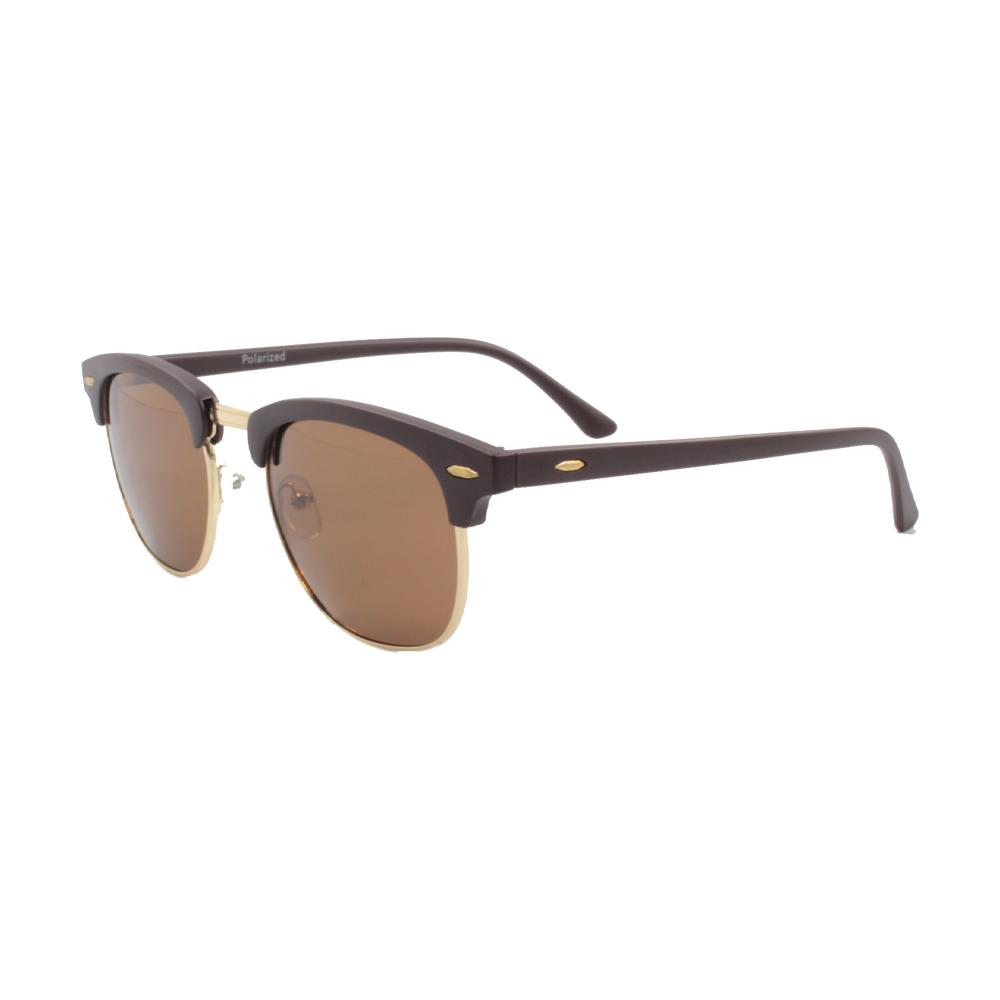 Óculos Solar Unissex Polarizado HP2563P-C4 Dourado e Marrom