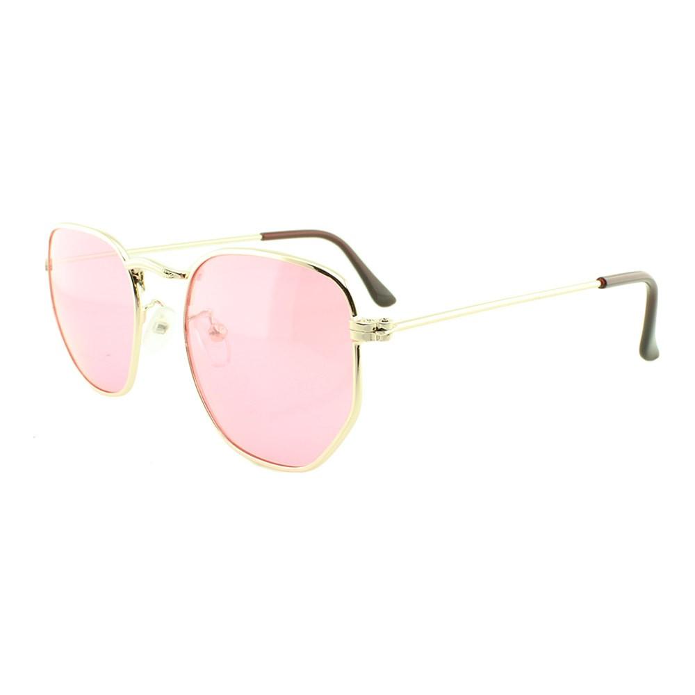 Óculos Solar Unissex Primeira Linha 3548 Rosa