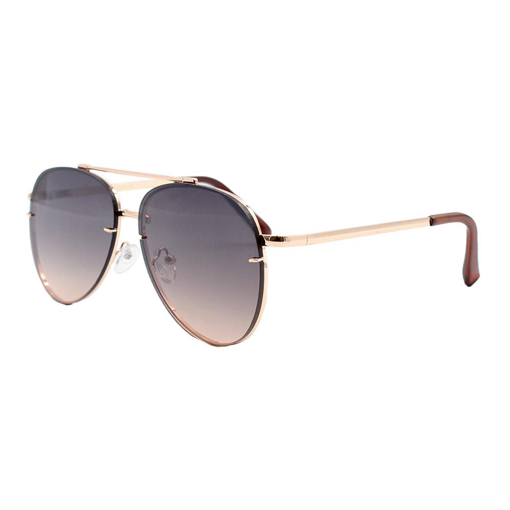 Óculos Solar Unissex Primeira Linha Aviador DO71018-C5 Dourado e Preto