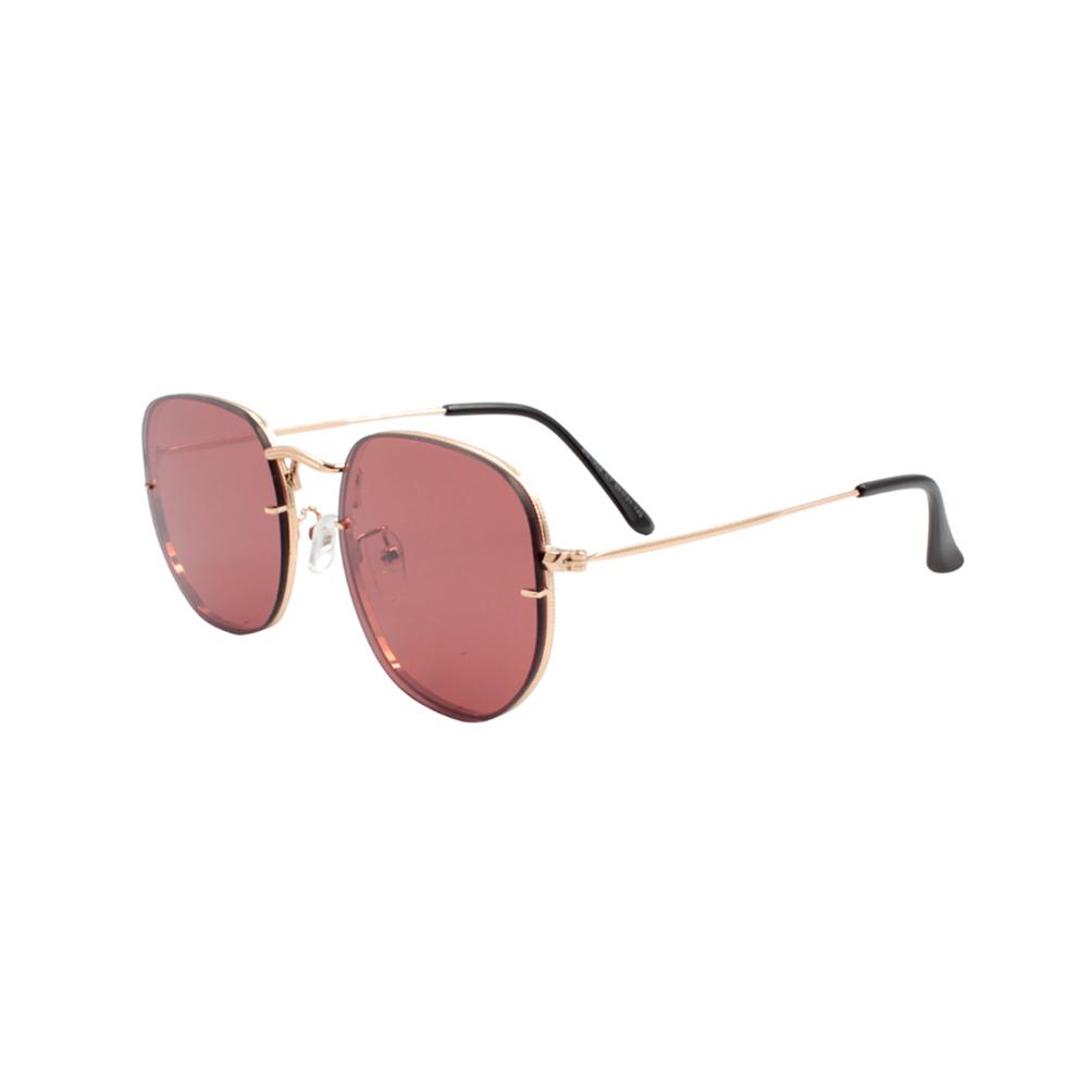 Óculos Solar Unissex Primeira Linha BG7602-C7 Dourado e Rosa