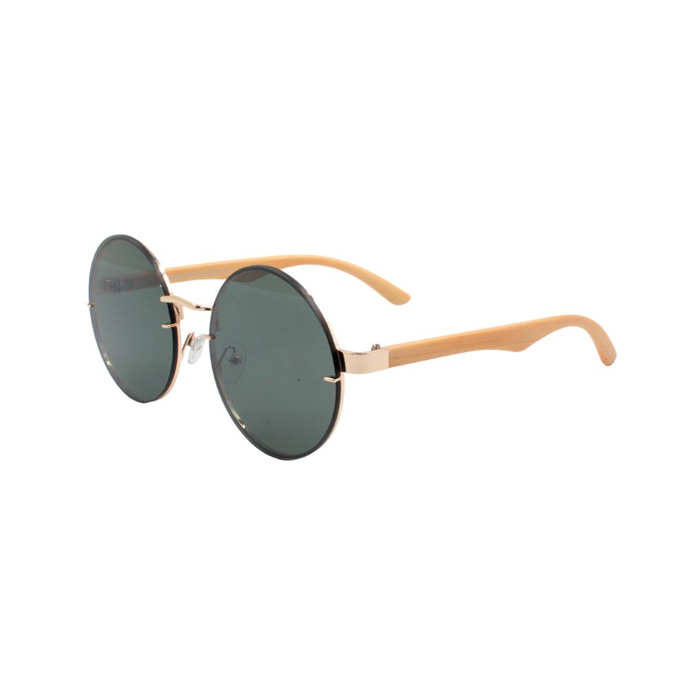 Óculos Solar Unissex Primeira Linha DOZ71150-C4 Dourado e Verde