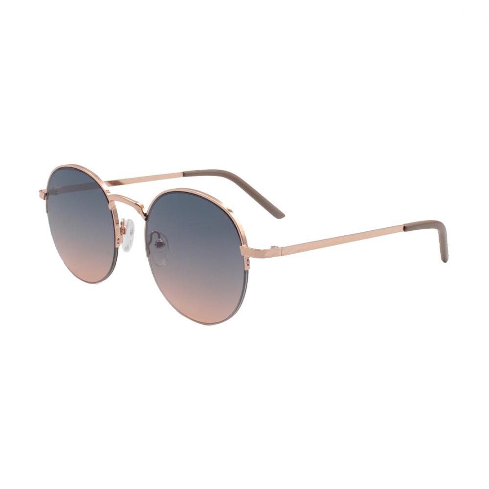 Óculos Solar Unissex ZB013 Dourado Colorido