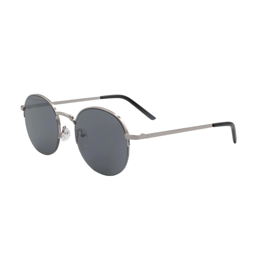 Óculos Solar Unissex ZB013 Prata e Preto