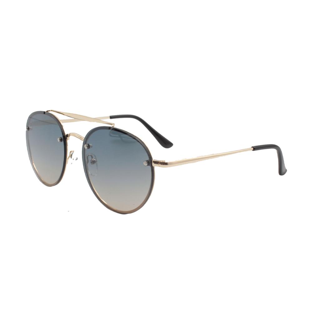 Óculos Solar Unissex ZB018 Dourado Colorido