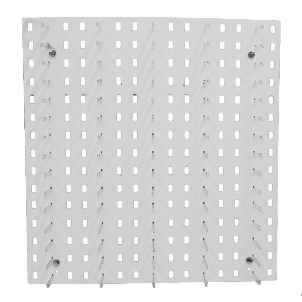 Painel Expositor para 75 Óculos em Poliestireno PAINEL75 Branco