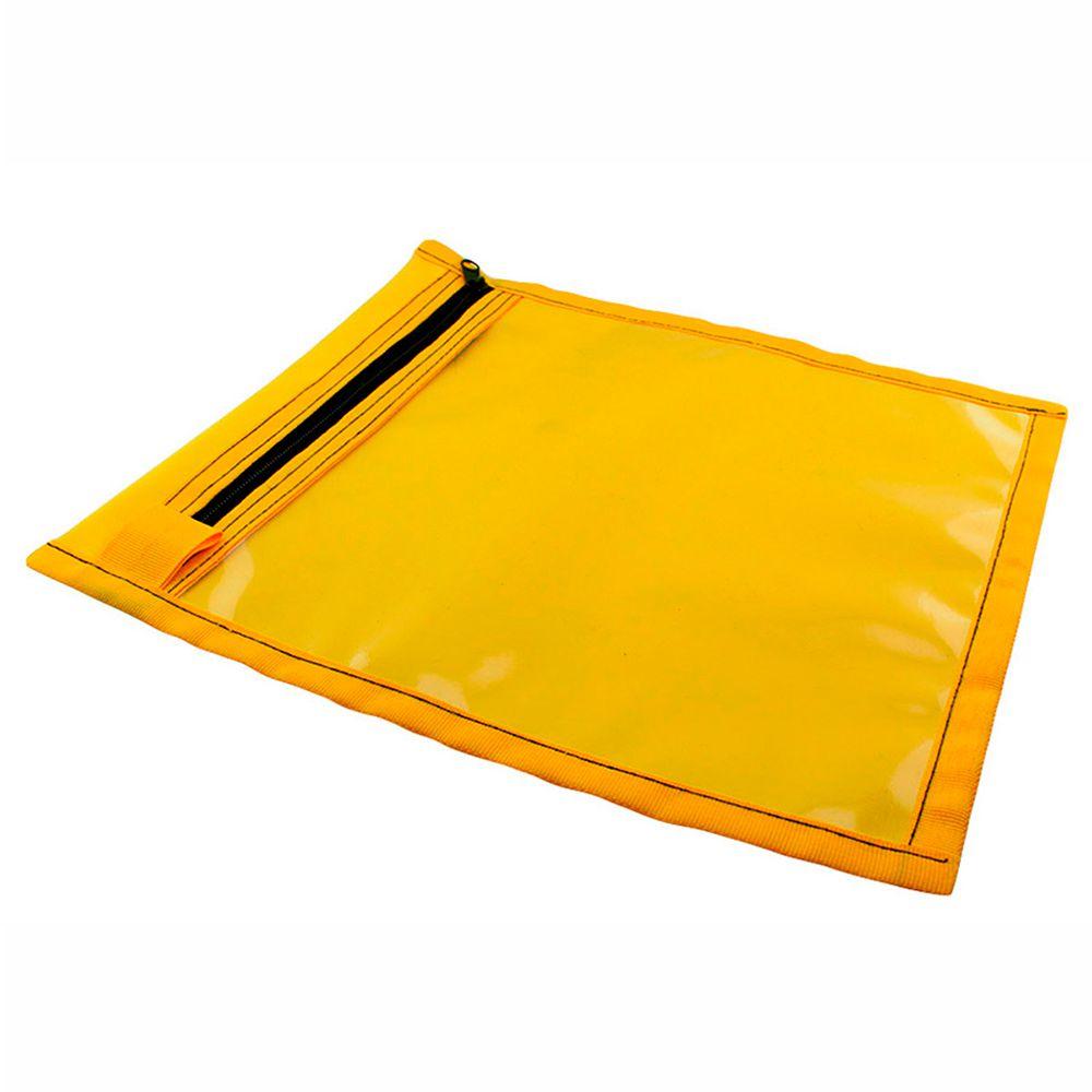 Porta Ordem de Serviços para Óticas com Zíper C210 Amarelo