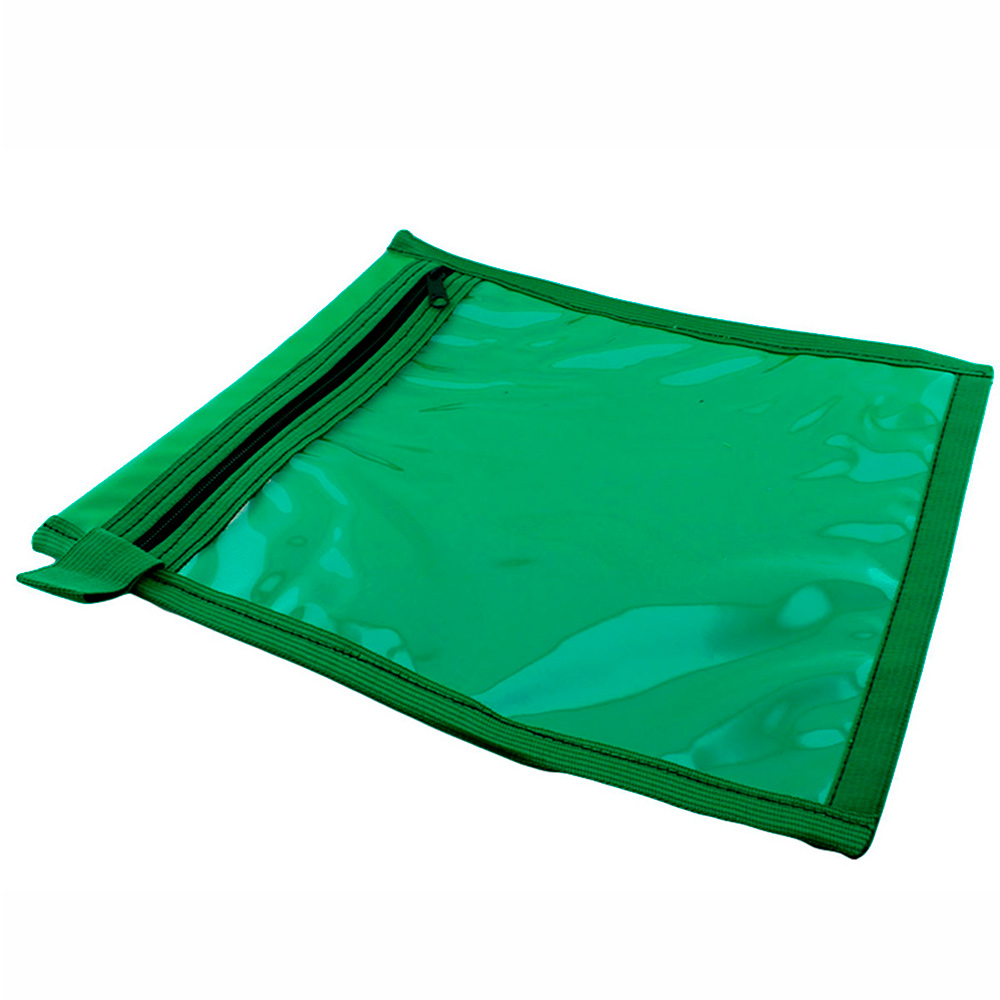 Porta Ordem de Serviços para Óticas com Zíper C210 Verde