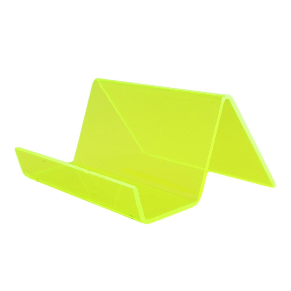 Suporte para Cartão em Acrílico PCS Verde