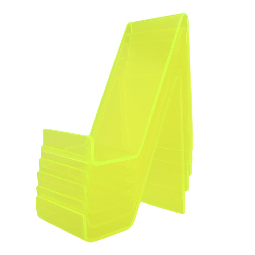 Suporte para Celular em Acrílico PCGR Verde com 6 Unidades