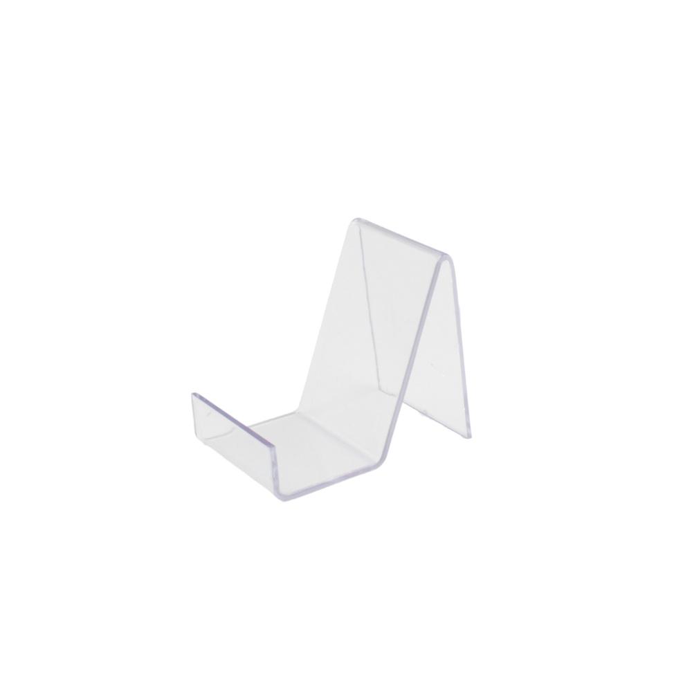 Suporte para Celular em Plástico 2344556 Transparente com 5 Unidades