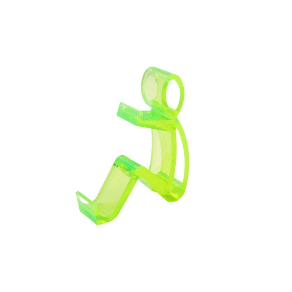 Suporte para Celular em Plástico 59EXP Verde com 4 Unidades
