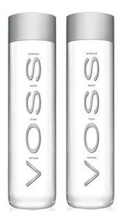 12x Água Mineral Natural VOSS Com Gás 800ml
