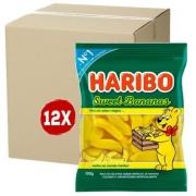 12X Bala HARIBO gel Sweet Banana 100G