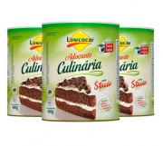 3 und Adoçante Culinária LOWÇUCAR 400g