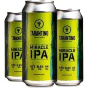 3x Cerveja TARANTINO Miracle IPA Lata 473ml