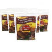 6 und Bananinha Chocolate TACHÃO DE UBATUBA 200g