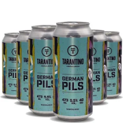 6x Cerveja TARANTINO German PILSEN Lata 473ml