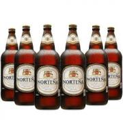 6x Cerveja Uruguaia NORTEÑA 960ml