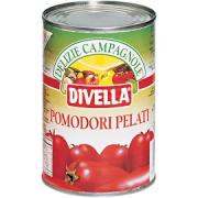 6x Tomate Pelado Italiano DIVELLA 400g
