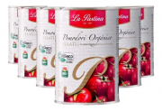 6x Tomate Pelado Orgânico LA PASTINA 400g