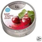 Bala CAVENDISH & HARVEY Sem Açucar Sour Cherry 175g