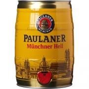 Barril Cerveja PAULANER Munchner Hell 5litros