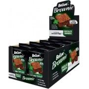 Brownie BeLive Chocolate com Menta Zero 10x40g