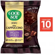 Brownie Cappuccino GOODSOY 40g ( 10 und )