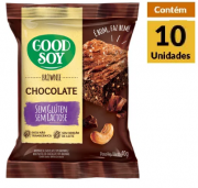 Brownie Chocolate GOODSOY Display 10x40g
