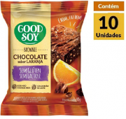 Brownie Laranja GOODSOY Display 10x40g