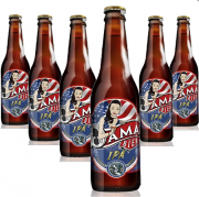 Cerveja Dama Bier Ipa 355ml ( 6 unidades )